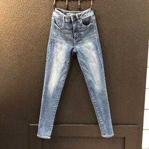 High waisted American Eagle skinny jeans!